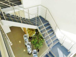 Kannegiesser Stainless Steel Staircase