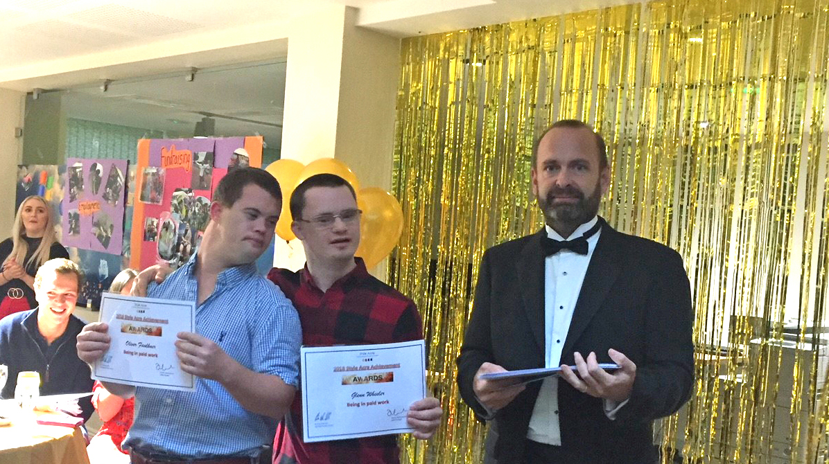 Hawkins Attend Style Acre Achievement Awards Ceremony